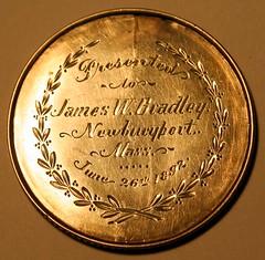 Merrimack Medal reverse