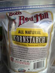 Non-gmo cornstarch
