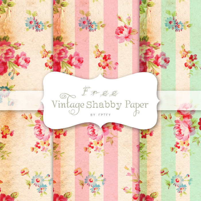 Free vintage digital scrapbooking papers by FPTFY web ex