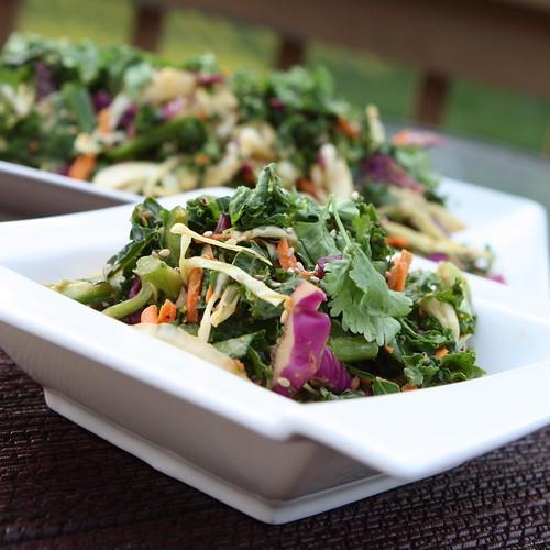 Kale Salad Dressing Asian