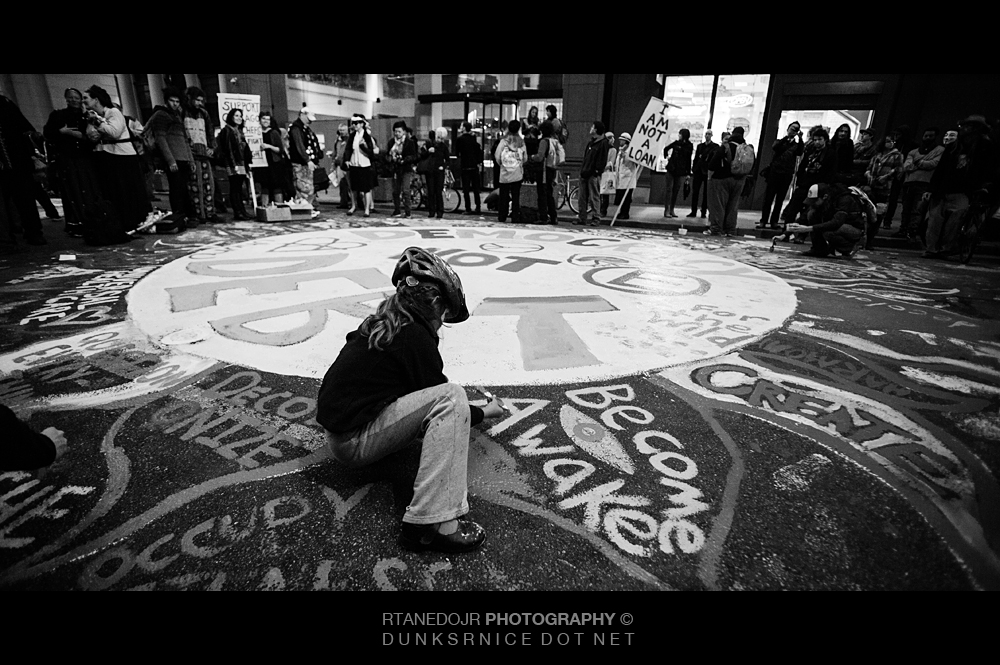 261 of 366 || Occupy SF 2012 B&W.