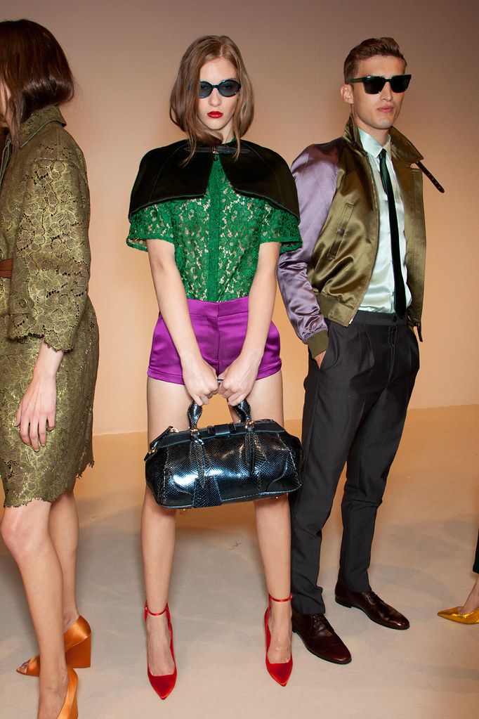 SS13 London Burberry Prorsum Women's021_Chrlie France(VOGUE)