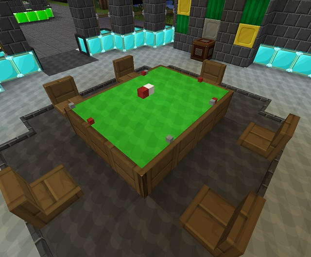 How to make a poker table in minecraft roulette number sequence