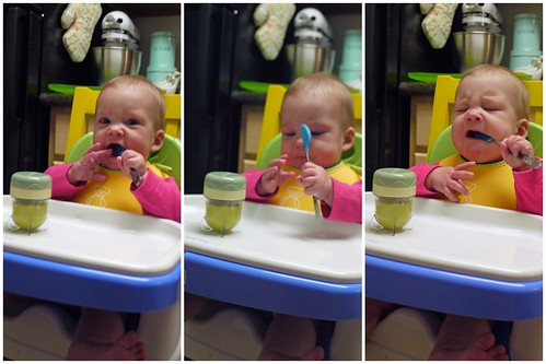 Claire's First Solid Food