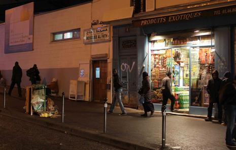 11l16 Chapelle Goutte d Or Mezquita rue Polonceau Uti