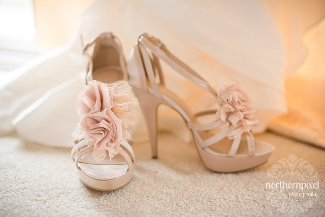 Christine & Nathan- Wedding Shoes