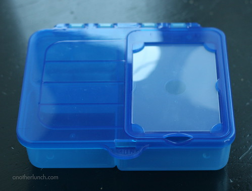 Gerber box, empty top view