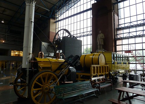 Replica  of Stephenson's Rocket