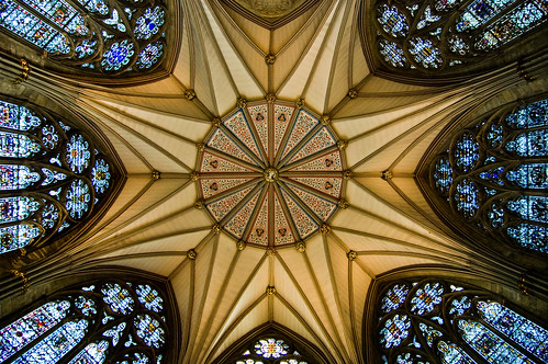 York - Ceiling of the Chapter House - 09-17-12