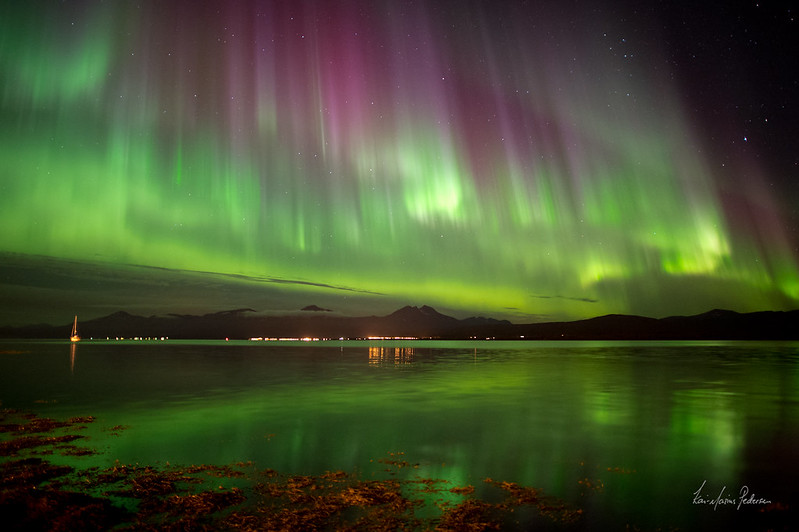 Attractive Northern Lights In Iceland Images