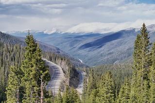 Glorious Berthoud Pass Summit.  U.S. Route 40, near Winter Park, CO.
