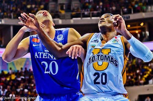 UAAP Season 75: Ateneo Blue Eagles vs. UST Growling Tigers, Sept. 15