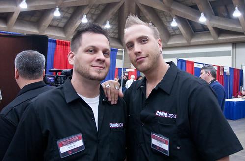 Mike Kacala and Josh Geppi of Comic WOW
