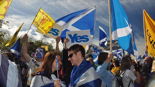 Yes Scotland's first annual Independence rally
