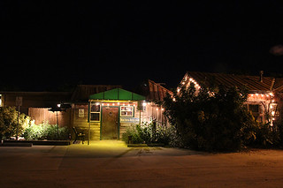 Entrance at Night, Mar Vista, Restaurant Review, Longboat Key, FL