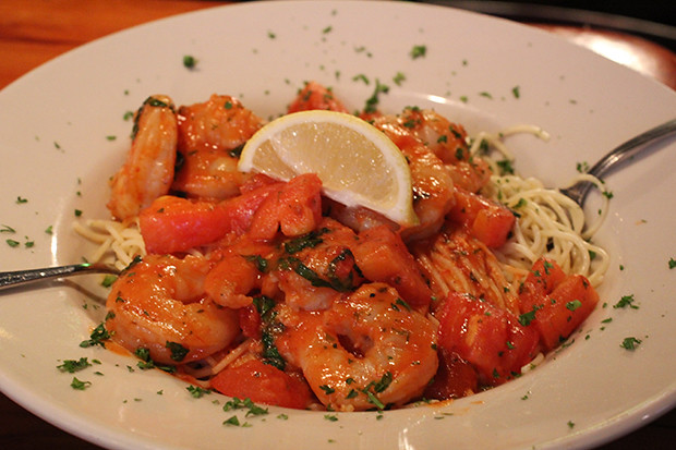 Shrimp Scampi, Mar Vista, Restaurant Review, Longboat Key, FL