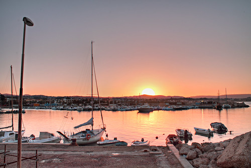 light sea water marina sunrise boat hdr sunup fbi3