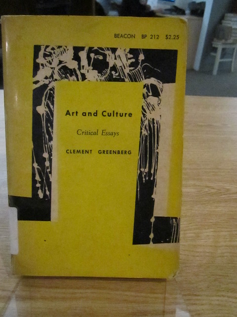 Art and culture critical essays clement greenberg pdf creator