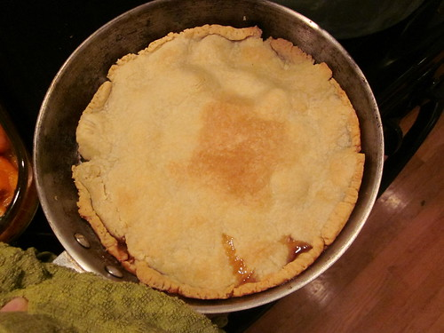 tarte after baking