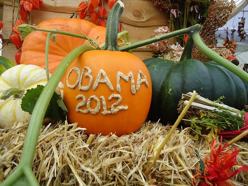 Obama 2012 pumpkin