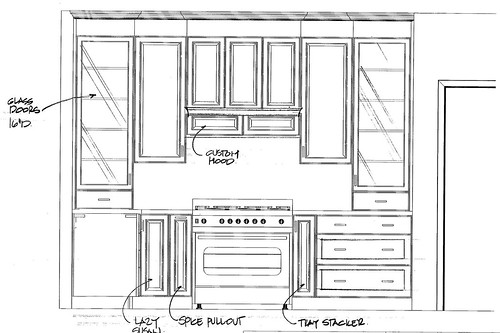 kitchen plan 1 - side view 5