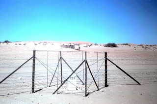 1980 Namibia Border Post