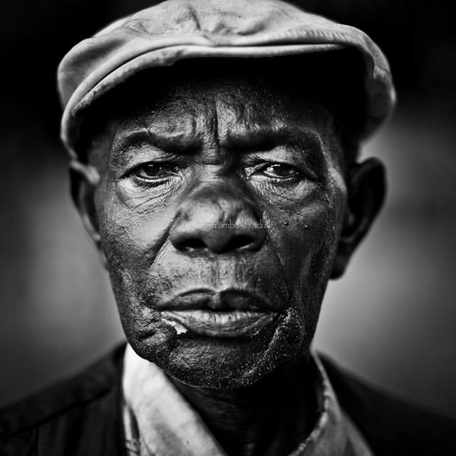 Lendu man - DR CONGO - 5 Masterful Tips in Portrait Photography