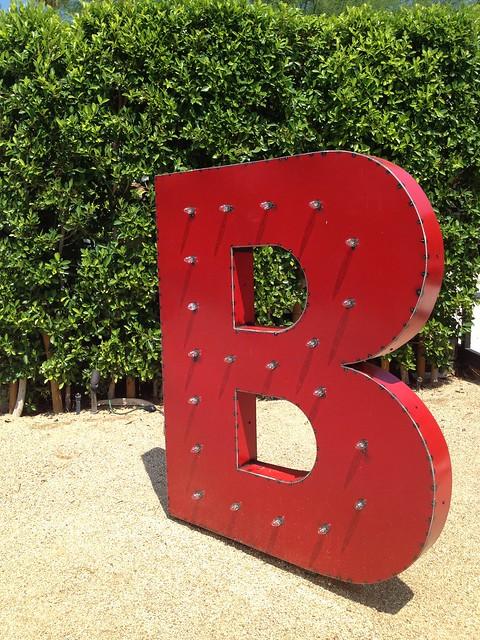 """Birba """"B"""" sign"""