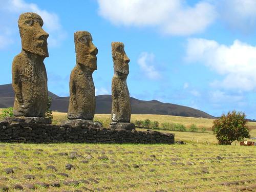 Ahu A Kivi, Isla de Pascua