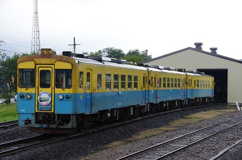 由利高原鉄道 YR1500形3両サヨナラ運転 #09