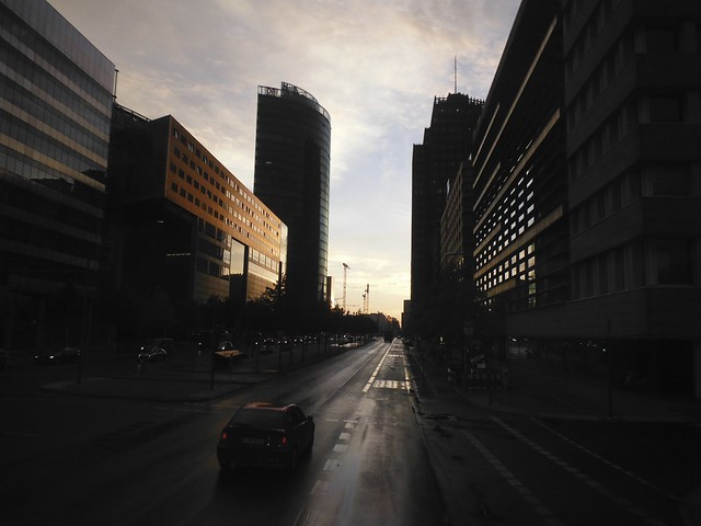 Potsdammerplatz / Sony Center