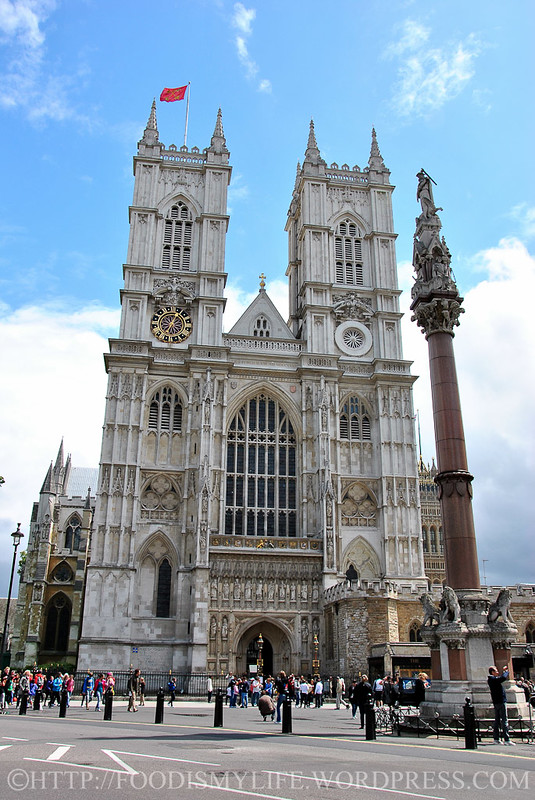 West Face of Westminster Abbey, London, England