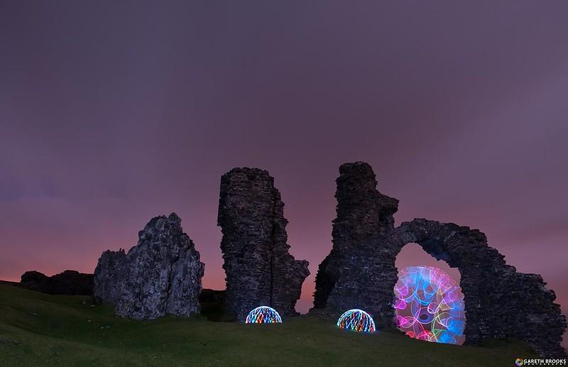 Castell Dinas Brân - Dinas Bran Castle