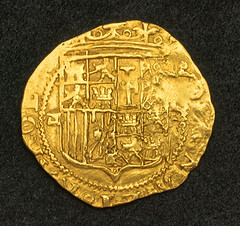 Spanish Doubloon Obverse