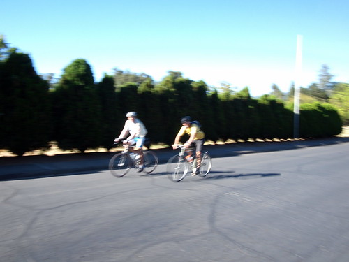 First two riders to arrive at CTTB on day 2