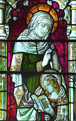 St Anne teaches the Virgin to read