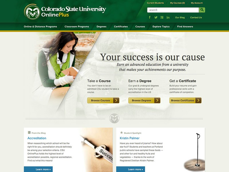 Colorado State University OnlinePlus