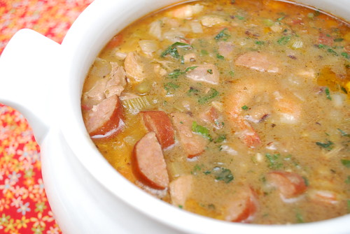What's Cookin, Chicago?: Shrimp, Chicken & Andouille Sausage Gumbo