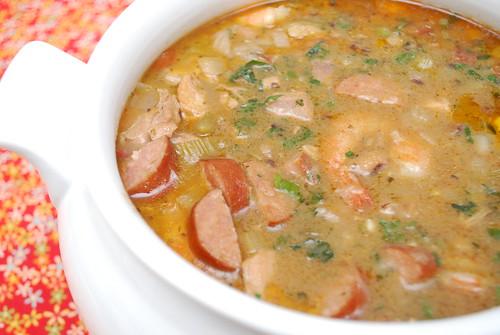 Shrimp, Chicken & Andouille Sausage Gumbo