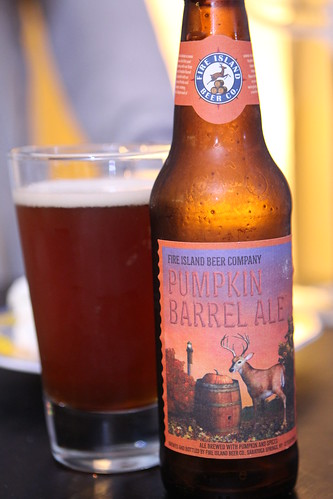 Fire Island Beer Company Pumpkin Barrel Ale