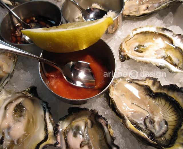 Summer Breeze oysters from Vancouver Island's west coast