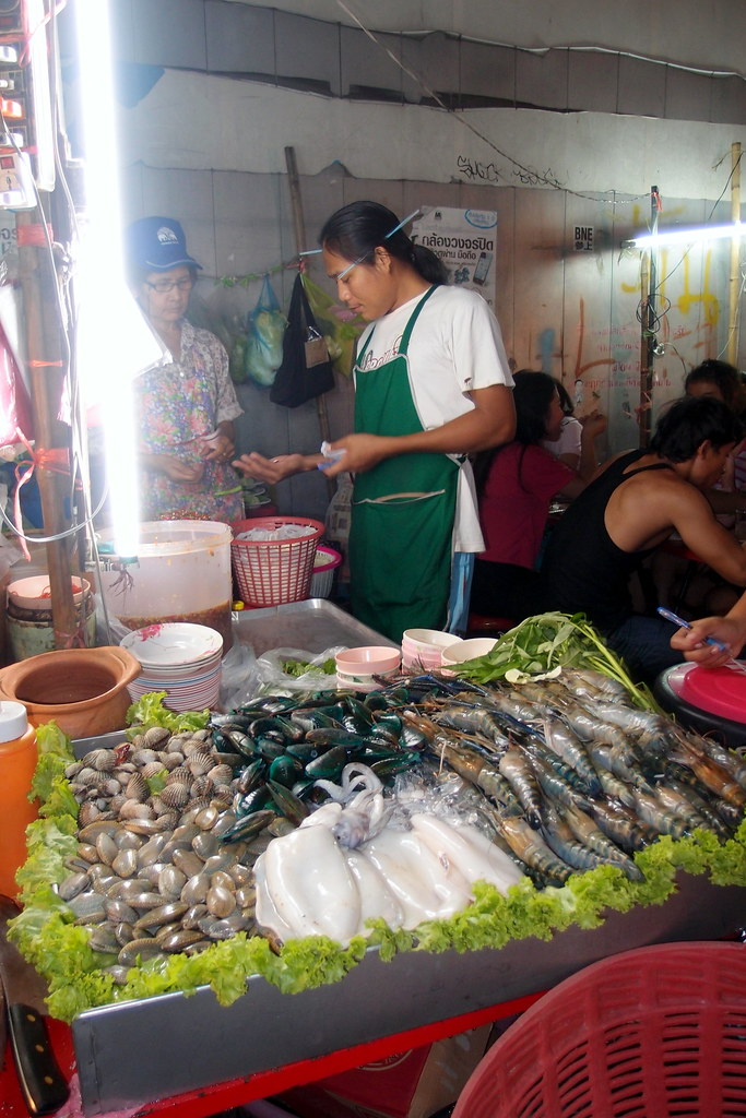 Must Try Bangkok Food: Salted Grilled Fish Stall
