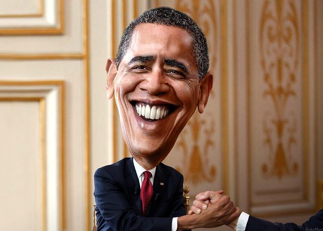 Barack Obama   Caricature | Flickr   Photo Sharing!