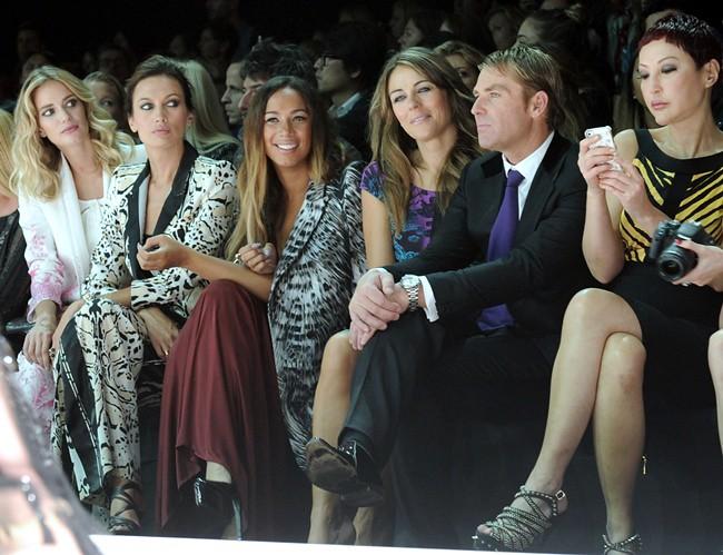 z0 Front Row Roberto Cavalli Spring Summer 2013 Fashion Show 24-09-2012 Milan