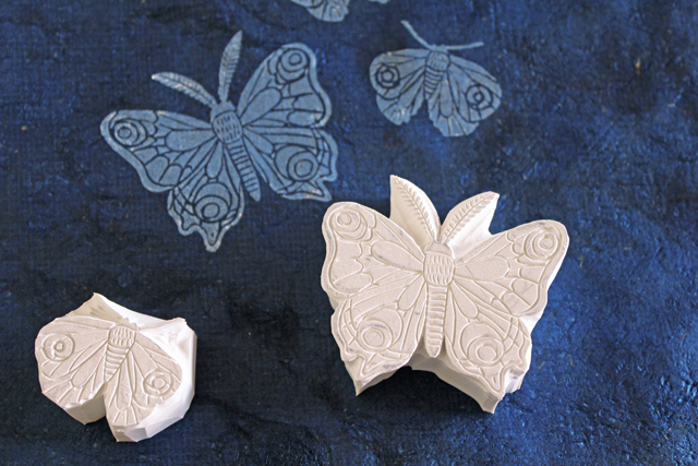 Moth Stamps