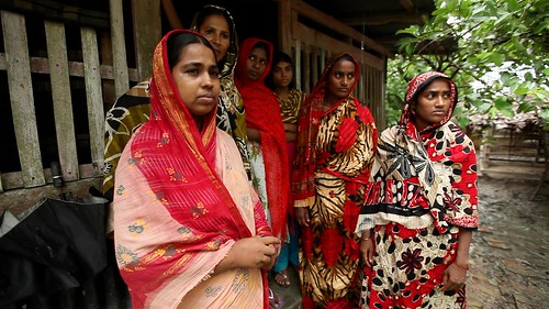 Women in rural village