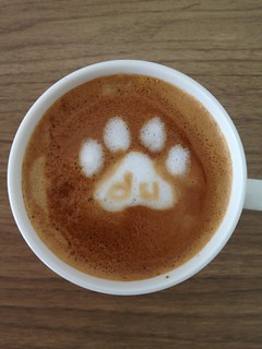 Today's latte, Baidu. | by yukop