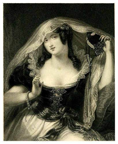 002- La máscara-Heath's book of beauty-1833- Letitia Elizabeth Landon
