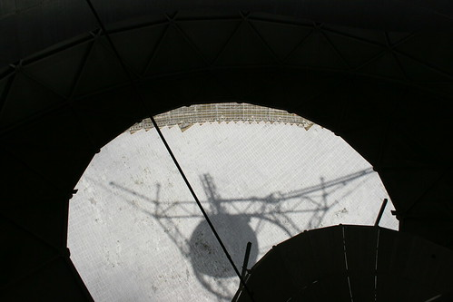 Shadow through the dome