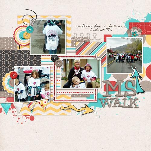 8 ms walk